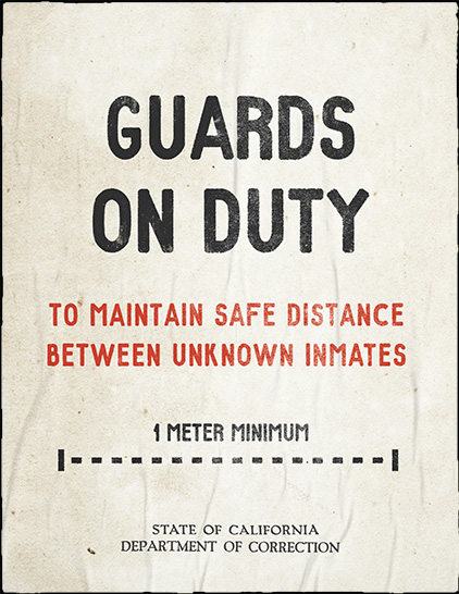 Guards on duty