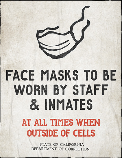 Face masks to be worn